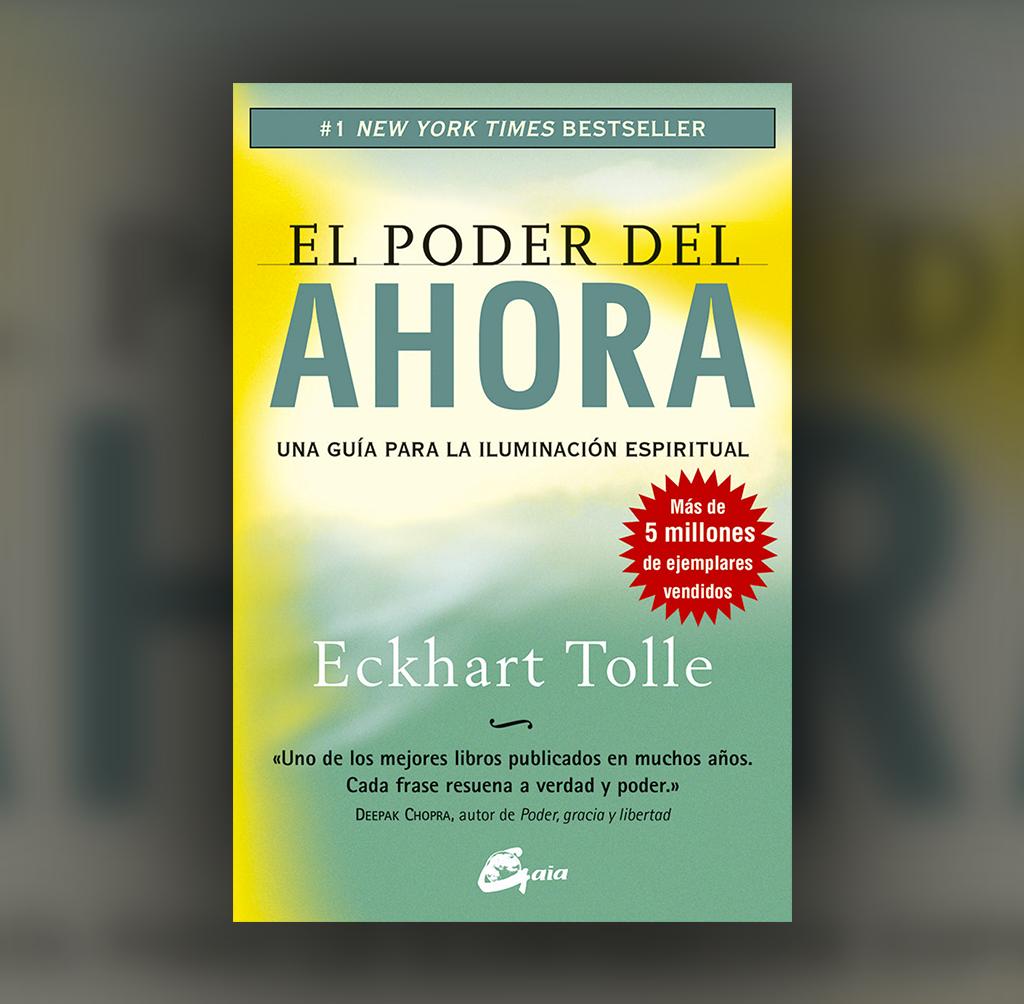 Eckhart Tolle nos guía en esta obra maestra llamada El poder del ahora en el viaje hacia la felicidad