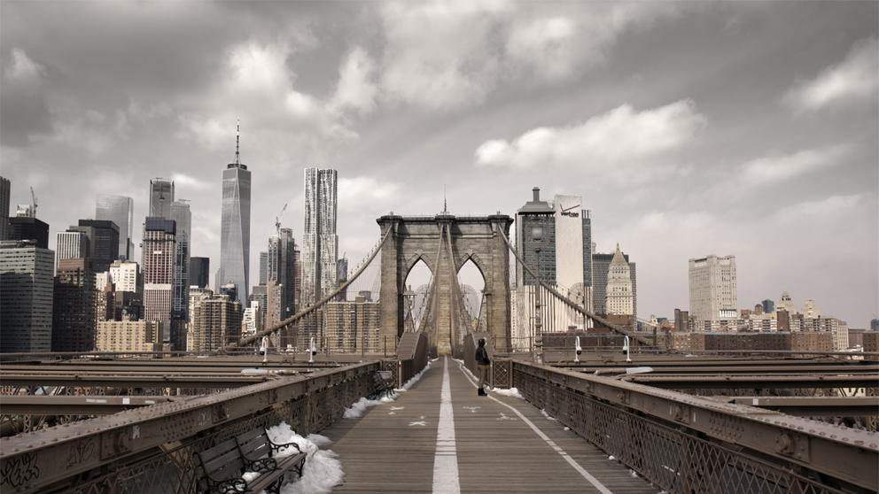 Las ciudades del mundo vacías por el confinamiento. Nueva York.